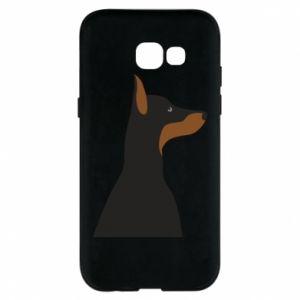 Phone case for Samsung A5 2017 Beautiful doberman - PrintSalon