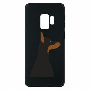 Phone case for Samsung S9 Beautiful doberman