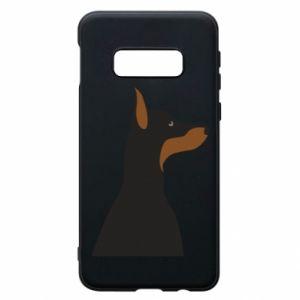 Phone case for Samsung S10e Beautiful doberman - PrintSalon