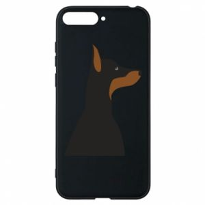 Etui na Huawei Y6 2018 Beautiful doberman