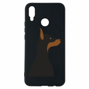 Etui na Huawei P Smart Plus Beautiful doberman