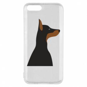 Phone case for Xiaomi Mi6 Beautiful doberman - PrintSalon