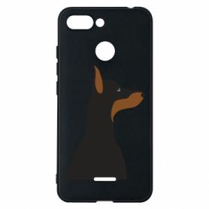 Phone case for Xiaomi Redmi 6 Beautiful doberman - PrintSalon