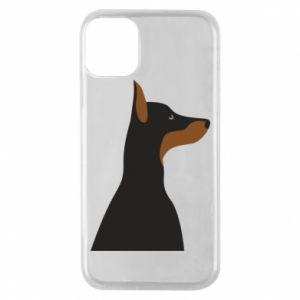 Phone case for iPhone 11 Pro Beautiful doberman - PrintSalon