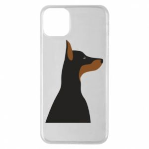 Etui na iPhone 11 Pro Max Beautiful doberman