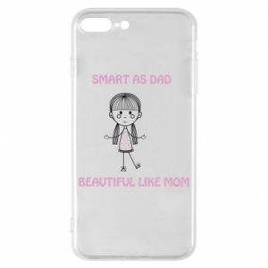Etui na iPhone 8 Plus Beautiful like mom - PrintSalon