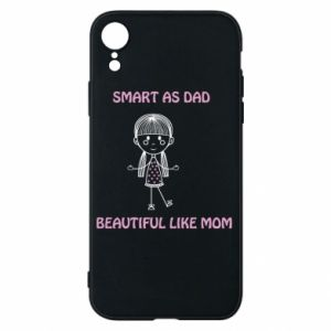 Etui na iPhone XR Beautiful like mom - PrintSalon
