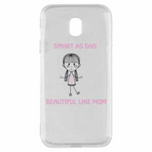 Etui na Samsung J3 2017 Beautiful like mom - PrintSalon