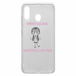 Etui na Samsung A20 Beautiful like mom - PrintSalon