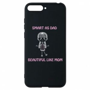 Etui na Huawei Y6 2018 Beautiful like mom