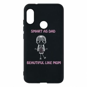 Etui na Mi A2 Lite Beautiful like mom - PrintSalon