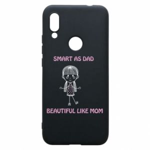 Etui na Xiaomi Redmi 7 Beautiful like mom - PrintSalon