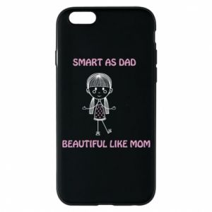 Etui na iPhone 6/6S Beautiful like mom - PrintSalon