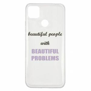 Etui na Xiaomi Redmi 9c Beautiful people with beauiful problems