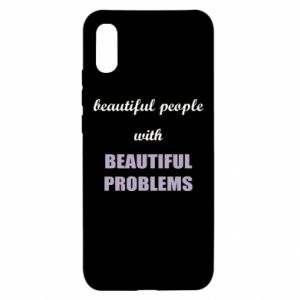 Etui na Xiaomi Redmi 9a Beautiful people with beauiful problems