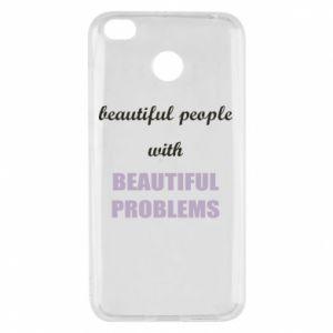 Etui na Xiaomi Redmi 4X Beautiful people with beauiful problems