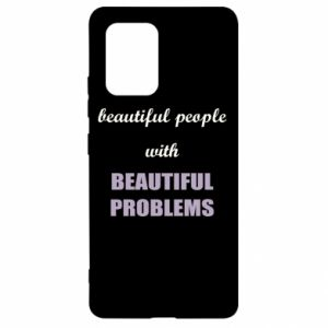 Etui na Samsung S10 Lite Beautiful people with beauiful problems