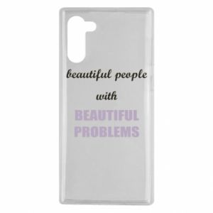 Etui na Samsung Note 10 Beautiful people with beauiful problems