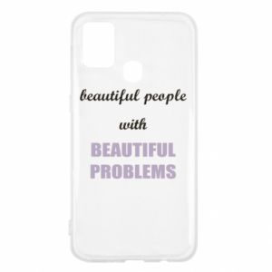 Etui na Samsung M31 Beautiful people with beauiful problems