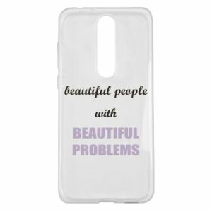 Etui na Nokia 5.1 Plus Beautiful people with beauiful problems