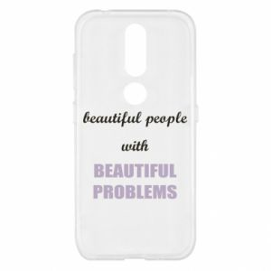 Etui na Nokia 4.2 Beautiful people with beauiful problems