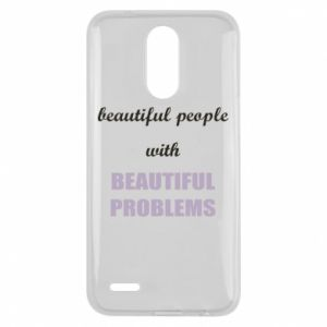 Etui na Lg K10 2017 Beautiful people with beauiful problems