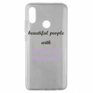 Etui na Huawei Honor 10 Lite Beautiful people with beauiful problems