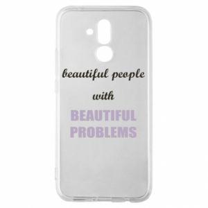 Etui na Huawei Mate 20 Lite Beautiful people with beauiful problems