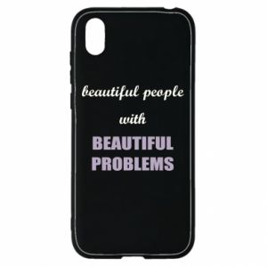 Etui na Huawei Y5 2019 Beautiful people with beauiful problems