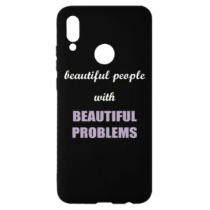 Etui na Huawei P Smart 2019 Beautiful people with beauiful problems