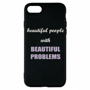 Etui na iPhone SE 2020 Beautiful people with beauiful problems