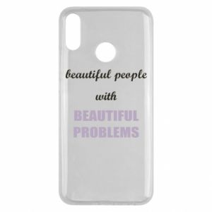 Etui na Huawei Y9 2019 Beautiful people with beauiful problems