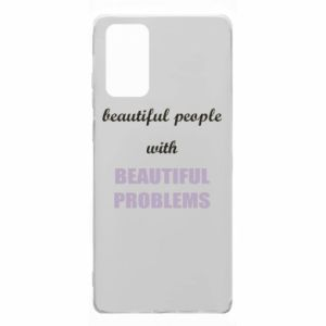 Etui na Samsung Note 20 Beautiful people with beauiful problems
