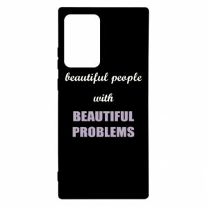 Etui na Samsung Note 20 Ultra Beautiful people with beauiful problems