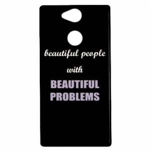 Etui na Sony Xperia XA2 Beautiful people with beauiful problems