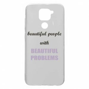 Etui na Xiaomi Redmi Note 9/Redmi 10X Beautiful people with beauiful problems