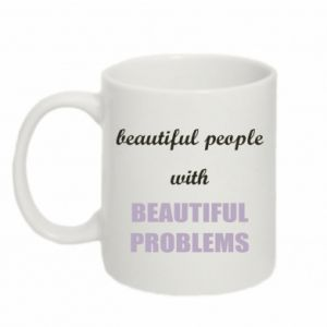 Kubek 330ml Beautiful people with beauiful problems