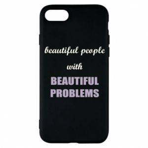 Etui na iPhone 8 Beautiful people with beauiful problems