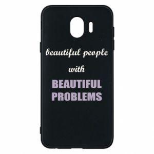 Etui na Samsung J4 Beautiful people with beauiful problems