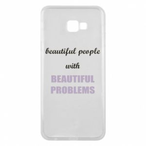 Etui na Samsung J4 Plus 2018 Beautiful people with beauiful problems