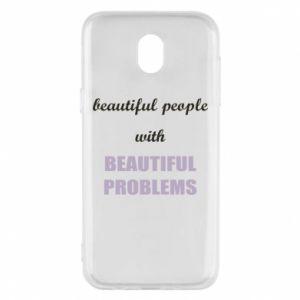 Etui na Samsung J5 2017 Beautiful people with beauiful problems