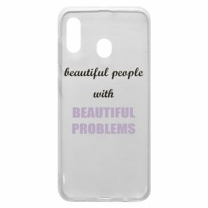 Etui na Samsung A20 Beautiful people with beauiful problems