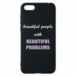 Etui na Huawei Y5 2018 Beautiful people with beauiful problems