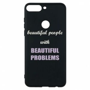 Etui na Huawei Y7 Prime 2018 Beautiful people with beauiful problems