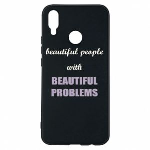Etui na Huawei P Smart Plus Beautiful people with beauiful problems