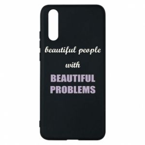 Etui na Huawei P20 Beautiful people with beauiful problems