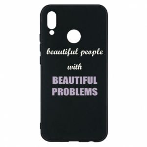 Etui na Huawei P20 Lite Beautiful people with beauiful problems