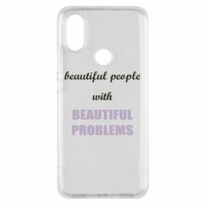 Etui na Xiaomi Mi A2 Beautiful people with beauiful problems