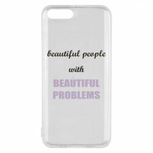 Etui na Xiaomi Mi6 Beautiful people with beauiful problems