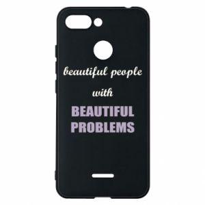 Etui na Xiaomi Redmi 6 Beautiful people with beauiful problems